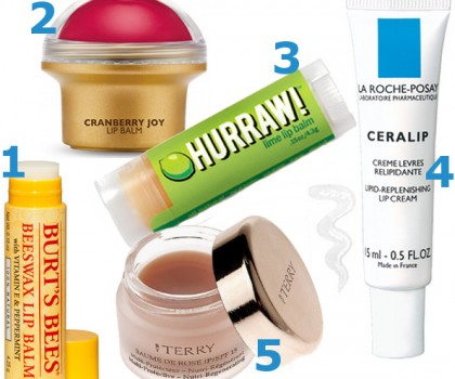 5 Great protective lip balms.