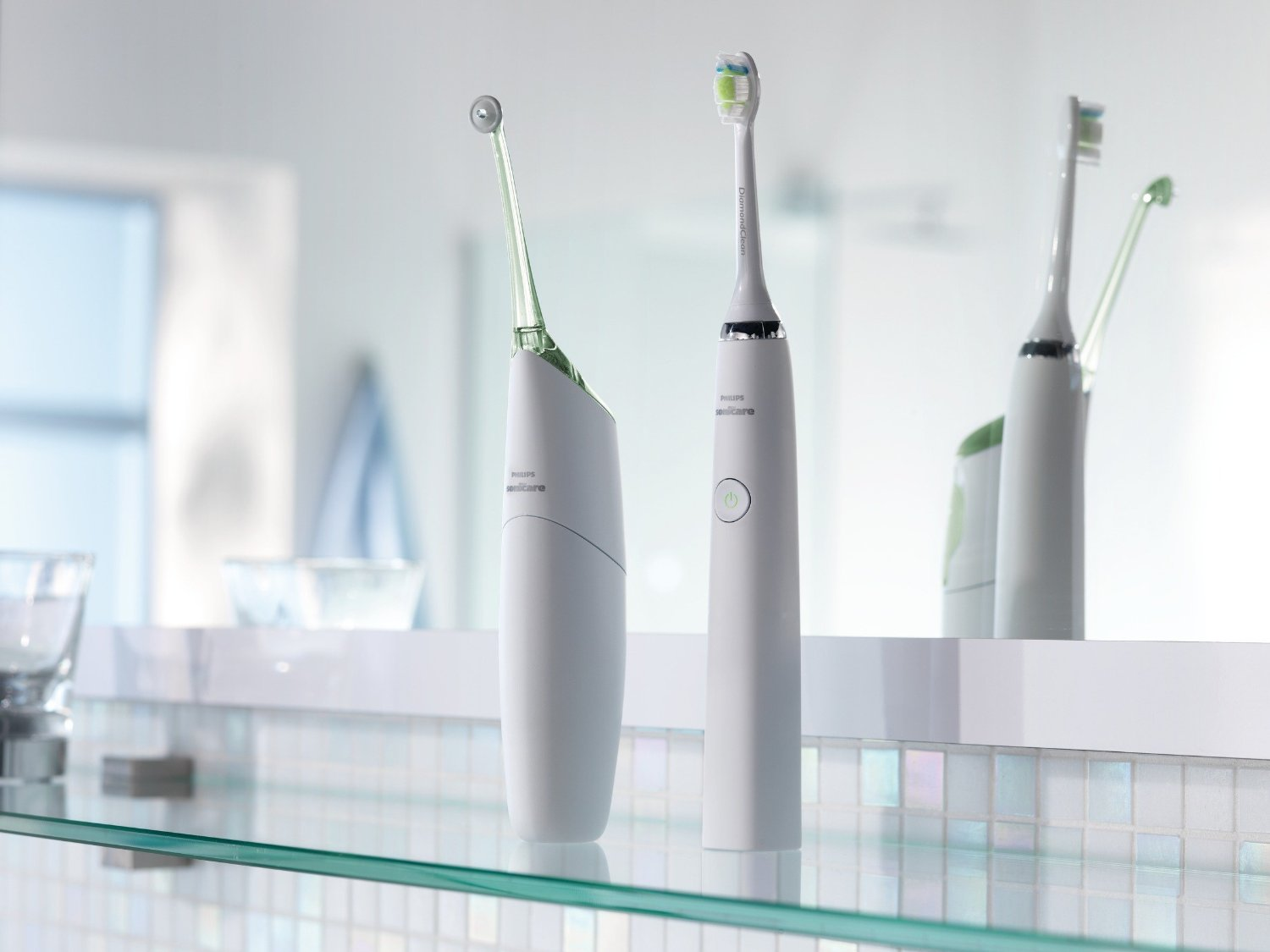 Perfect Duo: Sonicare Airfloss and DiamondClean Toothbrush